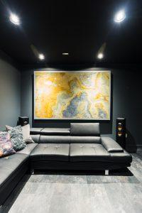 Custom Stone Finishes & LED Lighting