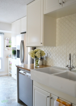A Bright, White Galley Kitchen Renovation: Greenwood Residence